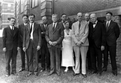 Group photograph, Chemistry faculty