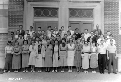 Lexington High School (forerunner of Henry Clay High School) students