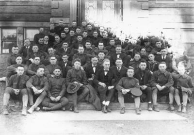 Charles Schwab Engineering Society, (freshmen?)  1919 Kentuckian, page 241