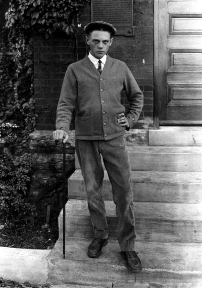 Roscoe Kash, youngest freshman, fall 1921