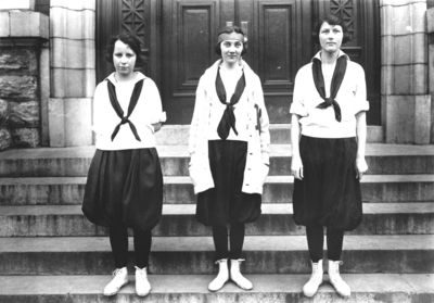 Three members of Kentucky women's basketball team