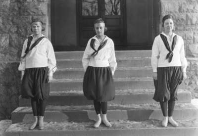 Three members of women's basketball team
