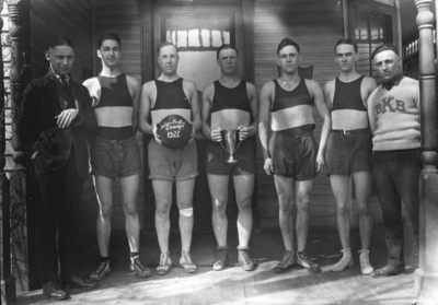 Inter fraternity basketball champions, 1922, Beta Kappa Beta