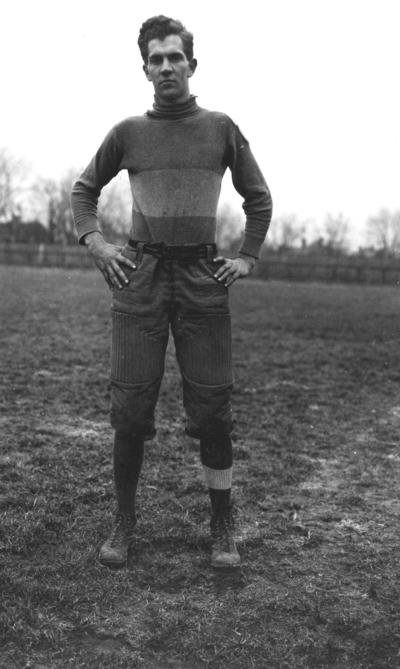 Kentucky football player, James Parks