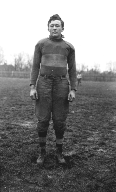 Unidentified Kentucky football player