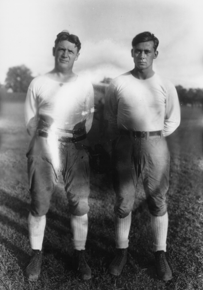 Two Kentucky football players