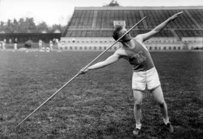 University of Kentucky men's track team, Javelin, Stoll Field, McLean Stadium