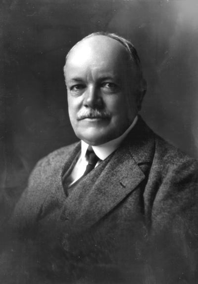 Portrait of Dean F. Paul Anderson, Engineering