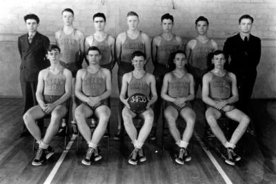 Bryan Station High School basketball team