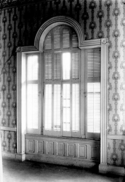Interior window of