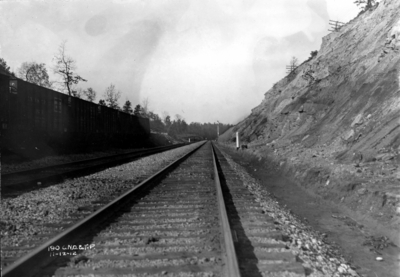 Stretch of track, annual inspection, railroad tracks
