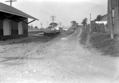 Lexington, Kentucky, Brannon Road crossing, train station