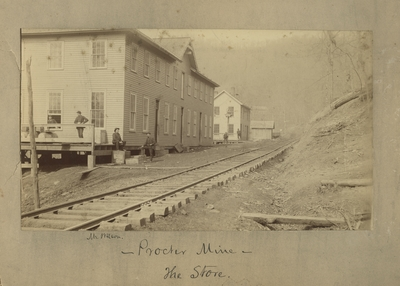 The store at Procter mine