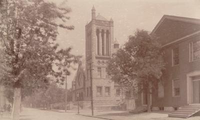 Central Christian Church, Lexington, KY 1877
