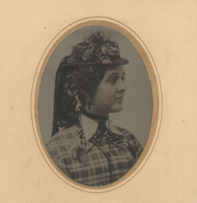 Lizzie A. Lyle as a young woman