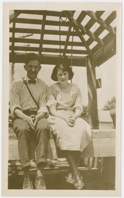 Grace Key, W. Hugh Peal, Bandana, Kentucky, summer