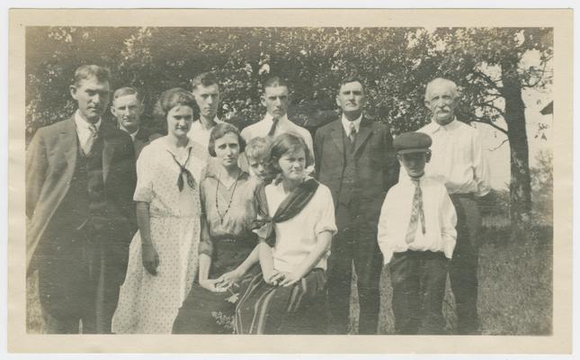 Wingo group, Oak Grove near La Center, Kentucky