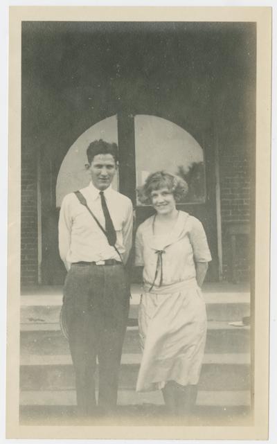 Verah Reesar, W. Hugh Peal, B.C.H.S. Building, La Center, Kentucky, summer