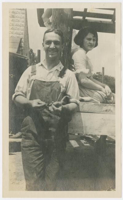 Herbert Covington, Grace Key, Bandana, Kentucky
