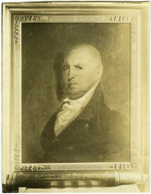 Colonel Isaac Shelby (1750-1826), first Governor of Kentucky