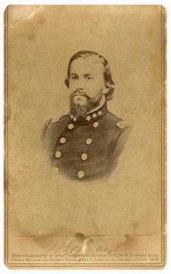Brigadier General John Hunt Morgan C.S.A.; Morgan in uniform as a brigadier general