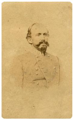 Brigadier General John Hunt Morgan C.S.A.; Morgan in uniform