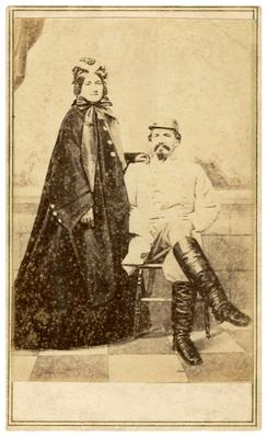 John Hunt Morgan and Martha                              Mattie Ready (1840-1888), his second wife