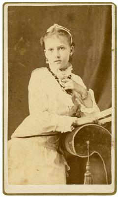Alice Martin Ready Williamson (1878-1972), daughter of Martha                              Mattie Ready (1840-1888) and her second husband, William W. Williamson (1828-1887)