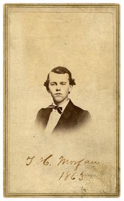1st Lieutenant Thomas Hunt Morgan, C.S.A