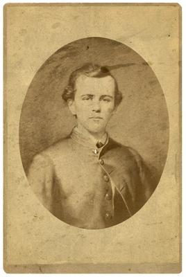 1st Lieutenant Thomas Hunt Morgan, C.S.A., reproduction of a painted portrait