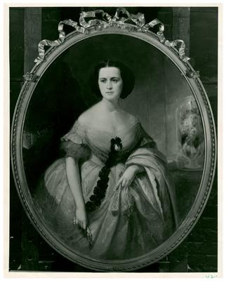 Henrietta Hunt Morgan (AKA Mrs. Basil Duke), reproduction of painting