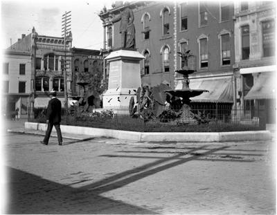 Breckenridge Monument;                          Breckenridge Monument handwritten on envelope