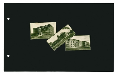 (3) labeled photographic prints: