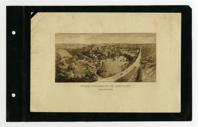 Illustration: aerial view of