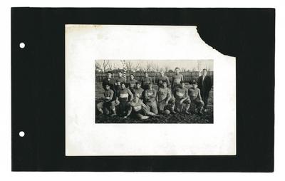 Group portrait of football team