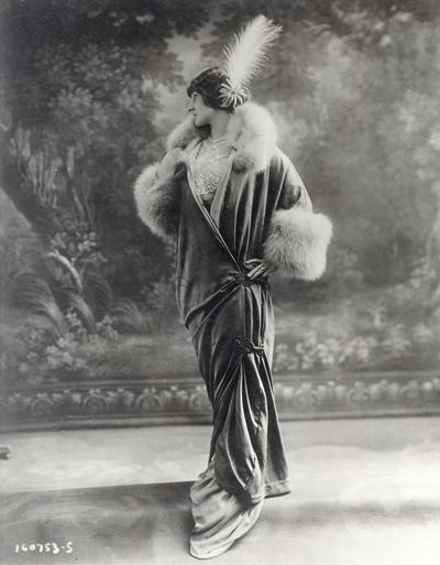 Gown by Redfern, Paris