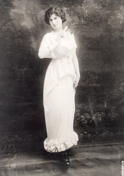 Afternoon gown by Thirion, Paris