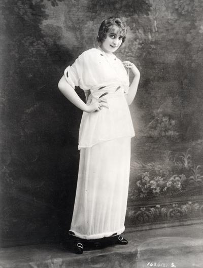 Gown by Jeanne Lanvin, Paris