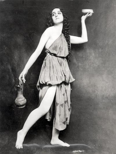Madame Fokina, Premier Danseuse of the Russian Ballet
