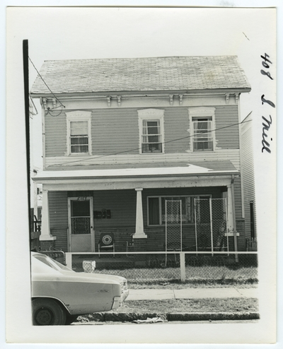 408 South Mill street. May be antebellum