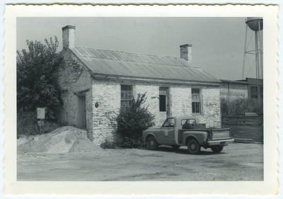 1213 Old Frankfort pike. Built by James McConnell in the late 1700's or early 1800's, or by Thomas Royle after 1806