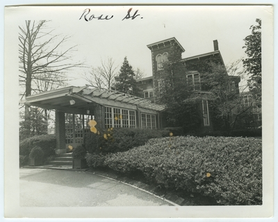Rose Street. Built in 1870 for James Hilary Mulligan. University of Kentucky president's house since 1917