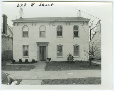 628 West Short street. Built by John W. Russell and sold in 1836 to Charles Cullum