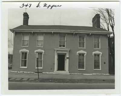 347 South Upper street. Built for Elisha Allen in 1805