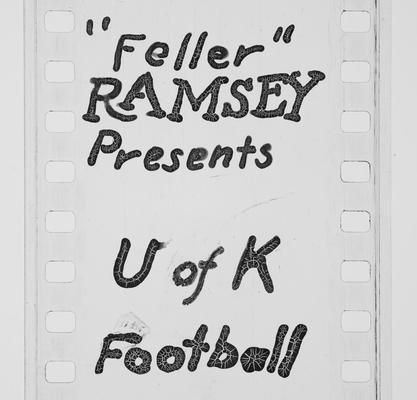 'Feller' Ramsey presents U of K football
