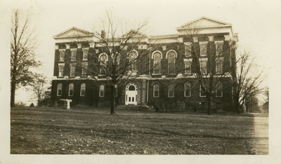 Universal Service Photograph, University of Kentucky Administration (Main) Building