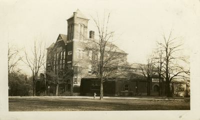 Universal Service Photograph, University of Kentucky Barker Hall / Buell Armory