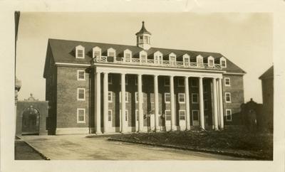 Universal Service Photograph, University of Kentucky Kinkead Hall