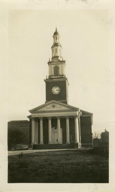 Universal Service Photograph, University of Kentucky Memorial Hall