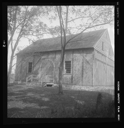 Old Mud Meeting House, Harrodsburg, Kentucky in Mercer County